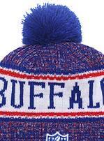 $enCountryForm.capitalKeyWord Australia - 2019 Unisex Autumn Winter hat Sport Knit Hat Custom Knitted Cap Sideline Cold Weather Knit hat Warm BUFFALO Beanie BUF Skull Cap 03