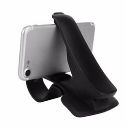 Опт Freeshipping универсальный многофункциональный HUD дизайн колыбели приборной панели автомобиля держатель стенд клип смартфон автомобильный держатель для сотового телефона GPS