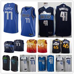 2019 man Utah 45 Donovan Mitchell 3 Ricky Rubio  77 Luka Doncic  41 Dirk  Nowitzki  1 Dennis Smith JR. basketball jerseys 96a7fba10