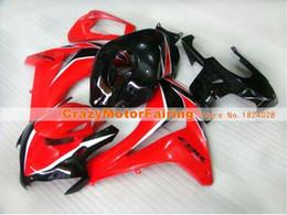 $enCountryForm.capitalKeyWord Australia - New ABS Injection Mold motorcycle Kits 100% Fit For Honda CBR1000RR 08 09 10 11 2008-2011 plastic Fairings bodywork custom red black nice