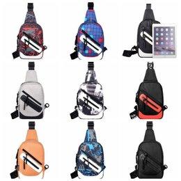 $enCountryForm.capitalKeyWord Australia - 8colors Crossbody Bags Men Zipper Chest Bag Pack Casual Messenger Purse Travel Single Shoulder Strap Bags Gga880