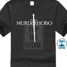 $enCountryForm.capitalKeyWord Australia - Cheap Printed 2017 Newest Funny Men Murder Hobo Dungeons And Dragons Men Women T Shirt Tees Custom