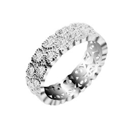 Cluster Rings For Womens UK - wedding rings Crystal Engagement Wedding Rings For Women Cz Jewelry Fashion Party Plata Anel Gold-Color Cheap Womens Jewellery 10R1359