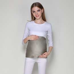 387ff139c82 Pregnant women anti-radiation belly protection fetal silver fiber  adjustable large size radiation protection clothes maternity dress