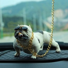 High Grade Car Australia - Car Dog Decoration Creative Personality High Grade Car Interior Fashion Simulation Dog Doll Interior Accessories Ornaments
