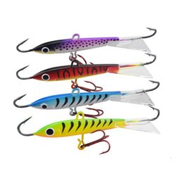 Jigs Lures For Fishing Canada - Jigging Rap Ice Jig lure 8.5cm 18g Russia ice fishing bait vertical jigging for deep or suspended fish.