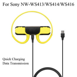 Wholesale For Sony NW-WS413 NW-WS414 NW-WS416 MP3 Player Bluetooth Headset Quick Charger USB Charging Dock NW WS413 WS414 WS416 Data Cable