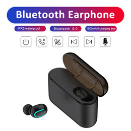 universal wireless headset Australia - Wireless Bluetooth 5.0 Earphones Q32 Tws Handsfree Headphones Sports Earbuds Gaming Headset Compatible with Universal Phones 3colors