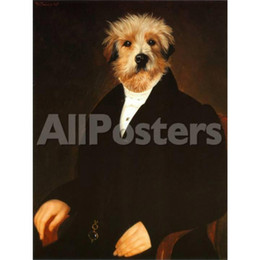 $enCountryForm.capitalKeyWord Australia - Portrait dogs painting Ancestral Canine I Thierry Poncelet oil paintings canvas Hand painted wall decor
