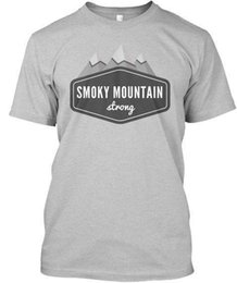 mountain tees UK - Smoky Mountain Strong - Premium Tee T-Shirt