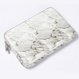 $enCountryForm.capitalKeyWord Australia - Marble PU Notebook Liner Sleeve Case for Macbook Air Pro Notebook Portable Bag for  Asus Xiaomi 13 14 15.4 15.6 Inch Pouch bag