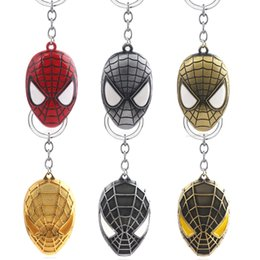 $enCountryForm.capitalKeyWord Australia - Marvel Keychains Far From Home Superhero Mask Cute Pendant For Man Car Woman Bag Jewelry Gift