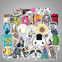 bicycles for children Canada - 100 Non-Repeating Cheaper VSCO Stickers Trolley Case Laptop Stickers Car Motorcycle Bicycle Guitar Scooter Funny Cool Stickers For Child