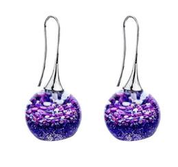 $enCountryForm.capitalKeyWord Australia - 2019 New Creative Resin Magic Ball Ear Hook Colored Resin Earrings Glazed Ball Earrings Women Fashion Jewelr