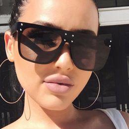 $enCountryForm.capitalKeyWord Australia - Wholesale-designer sunglasses for women flat top Square sun glasses goggles mens square sunglasses women fashion eyewear