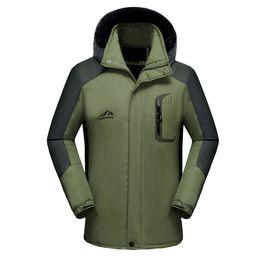 Hunting Hoodies online shopping - Men Waterproof Hoodie Waterproof Detachable Breathable Sport Outdoor Coats Windbreakers Hydrophobic Hiking Clothing Fishing Hunt