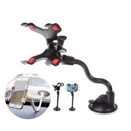 Discount universal car windshield mount for cellphone - Universal 360 Degree Rotating Long Arm Windshield mobile phone Car Mount Bracket Holder Stand for Cellphone GPS MP4 PDA