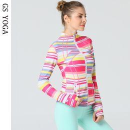 $enCountryForm.capitalKeyWord Australia - Women's Yoga Top Long Sleeve Running Quickly Dry Sports Shirts Hoodies Sweatshirt Fitness Zipper Jacket Hood Coat #463176