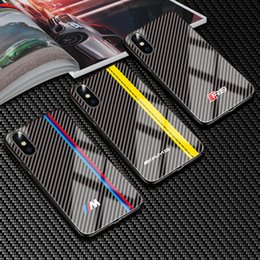 c119dae291c6 AMG BMW Tempered Glass Sport Car Case For iPhone XS Max XR XS X 8 8 Plus 7  7Plus 6 6S 6 Plus