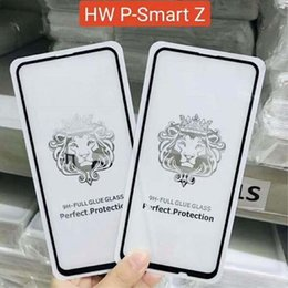 z iphone Canada - 5D 9D 10D Full Cover Tempered Glass 9H Hardness Clear Full Glue Screen Protector Film for iPhone XS MAX Huawei P30 lite P Smart Z Y7 Y9 2019