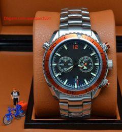 $enCountryForm.capitalKeyWord Australia - New luxury designer watch Hot dive chronograph limited orange Mens Watch High quality Stainless Steel Wristwatch Men Watches