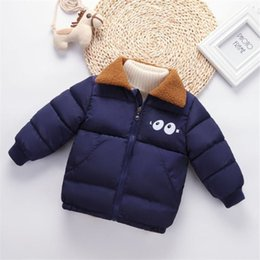 Down Parkas For Kids NZ - good quality boys winter warm down parkas kids casual thick velvet outerwear for baby boys children fashion coats clothing jacket
