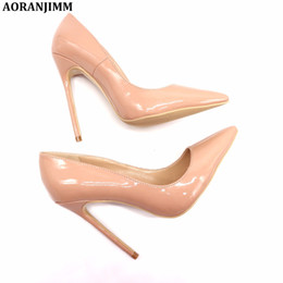 $enCountryForm.capitalKeyWord UK - Casual Designer Sexy lady fashion nude patent leather office lady OL style women lady 120mm high heel shoes pump