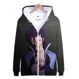 $enCountryForm.capitalKeyWord Australia - Fairy Tail 2019 Autumn Winter 3D Print Fairy Tail Cosplay Hoodies Sweatshirts Casual Zipper Hooded Jacket Clothing