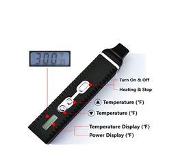 Best Dry Vaporizer Pen Australia - Flash Deals Portable Dry Herb Vaporizer Vape Pen HEBE Best Vape Box Mods Heat-not-Burn Kits With Temperature Control Display Free Shipping