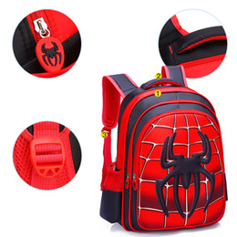 kids school bags spiderman Australia - 2019 Waterproof Spiderman Boy Girl Children Kindergarten School Bag Teenager Schoolbags Kids Student Backpacks Satchel Knapsack SH190924