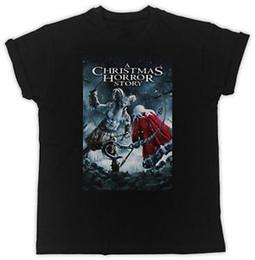 Shirt Slogans Australia - COOL A CHRISTMAS HORROR STORY POSTER SLOGAN IDEAL GIFT UNISEX BLACK T-SHIRT