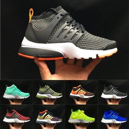 $enCountryForm.capitalKeyWord NZ - High Quality Mens Womens Summer Breathable Sock Casual Shoes Prestos Ultra BR QS Black Oreo Men Ladies Running Shoes Designer Sneakers 32