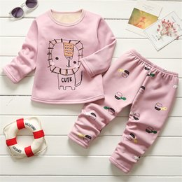 $enCountryForm.capitalKeyWord Australia - BibiCola Baby Boy Girl Clothing Set Children Winter Warm Clothes Kids Tracksuit Clothes Infant Baby Pajamas Set Child Sport