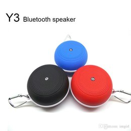 $enCountryForm.capitalKeyWord Australia - Y3 Bluetooth Subwoofer Speaker Sound Card Mini Outdoor Speaker Handsfree Sports Hook TF card  FM 5 colors DHL free