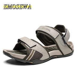 quality beach wraps NZ - New Summer Style High Quality Beach Casual Male Sandals Breathable For Men Walking Brand High Quality Comfortable Shoes 39-46 MX200617