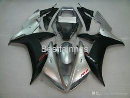 $enCountryForm.capitalKeyWord NZ - 100% Fitment. Injection molding fairing kit for YAMAHA R1 2002 2003 silver black fairings YZF R1 02 03 JY25