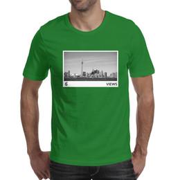 $enCountryForm.capitalKeyWord Australia - Drake City Views Man's Tops Tees Comfortable Hunting Cotton O Neck Shirts Macho T Shirt Casual T Shirts for Man