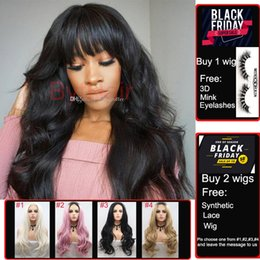 Black Bangs wig human hair online shopping - Bythair Lace Front Human Hair Bob Wigs Virgin Hair Peruvian Full Lace Wig With Baby Hairs Glueless Full Lace Human Wigs With Bangs