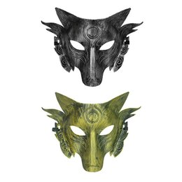 Wolf face mask online shopping - Halloween Masks Cosplay Wolf Costume Mask Full Face Mask For Men Women Mascaras Y Disfraces