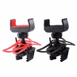 Wholesale Mount Bike Handlebar Rack Bicycle Multifunctional Universal Holder MTB Mountain Mobile Motorcycle Silicon Support For Cell Phone