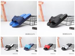 Discount new designs for sandals - Slippers Sandals Designer Slides new Top Brand Designer Shoes men Animal Design Huaraches Flip Flops Loafers For Men and