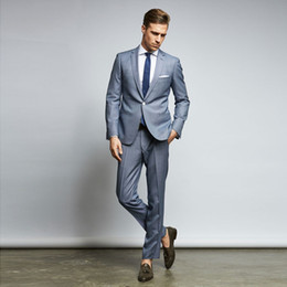Slim Fit 48 Size Suit Australia - 2019 Classy Cheap Mens Suits Slim Fit Nothced Lapel Wedding Suits For Men With Jacket And Pants Designer Groom Tuxedos Two Pieces Blazers