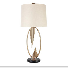 $enCountryForm.capitalKeyWord UK - America style Table lamp with white cover for living room Modern bedroom metal white cover bedlamp E27 home indoor BED LAMP