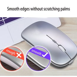 thin laptops Canada - 2020 Cheapest Best Wireless Mouse with Ultra Thin Optical 2.4G Receiver Super Slim Mouse For Computer PC Laptop Desktop Mice with Sliver
