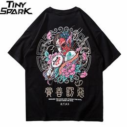 $enCountryForm.capitalKeyWord Australia - 2019 T Shirt Streetwear Men Good And Evil Print Hip Hop T-shirt Chinese Character Harajuku Tshirt Cotton Short Sleeve Tops Tees Y19072201