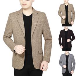 korean fashion men suit coat 2019 - Mens Korean slim fit fashion cotton blazer Suit Jacket black blue plus size M to 3XL Male blazers Mens coat Wedding