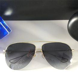 cd40d1b5afa Wholesale new fashion designer sunglasses AIR JERK pilot half frame popular  avant-garde summer style top quality uv400 protection eyewear