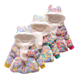 Baby Camouflage Jackets Australia - good quality Baby Girl Coat Camouflage Print Doll Winter Warm Jacket Hooded Windproof Coat girl jackets girls outerwear coats veste