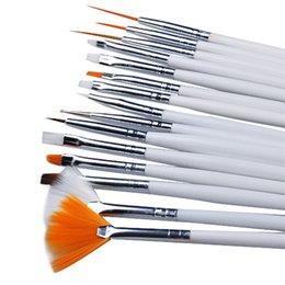 Pc 15 Australia - nail art design brush Biutee 15 Pcs Nail Art Brushes Design Set Dotting Painting Drawing Polish Brush Pen Tools