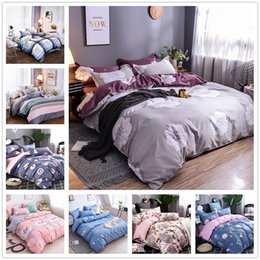 $enCountryForm.capitalKeyWord Australia - Simple Style Mordern Bedding Set Single Double King Size Gift for Child Quilt Cover 2 3pcs with Red Blue Fruit Comforter Cover Set